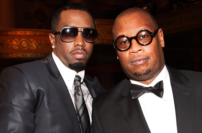 """Sean """"Diddy"""" Combs and Andre Harrell"""