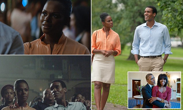 """Tika Sumpter and Parker Sawyers in """"Southside With You"""""""