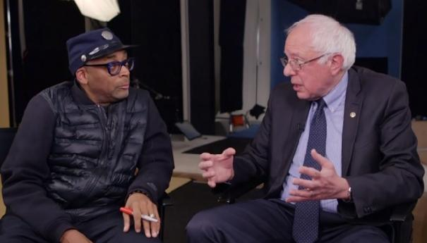 spike lee & bernie sanders
