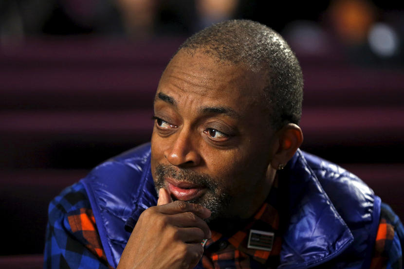 Director Spike Lee attends a mass at Saint Sabina Church in Chicago, Illinois, United States, November 22, 2015.