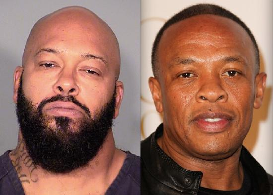 suge knight & dr dre