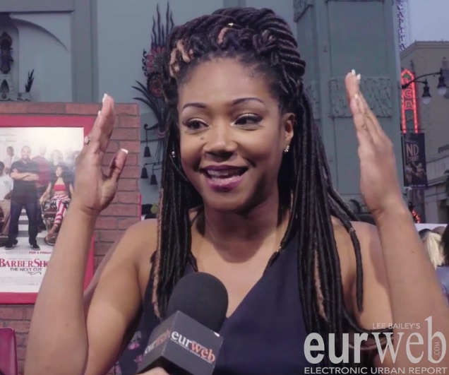 Stars at 'Barbershop' Red Carpet Share Favorite Hairstyles (Watch)