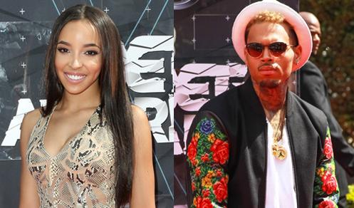 tinashe - chris Brown