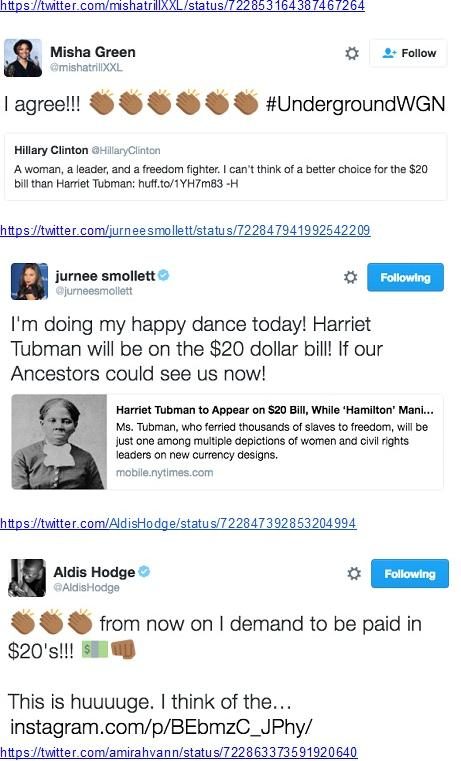 underground creator and cast reactions to harriet tubman on 20 dollar bill