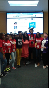 Disney Dreamer Journalists with blogger Awesomely Luvvie, Charreah Jackson, Lifestyle and Relationship Editor for Essence Magazine, and Meg Patten, Operations Engagement Specialist for Walt Disney World