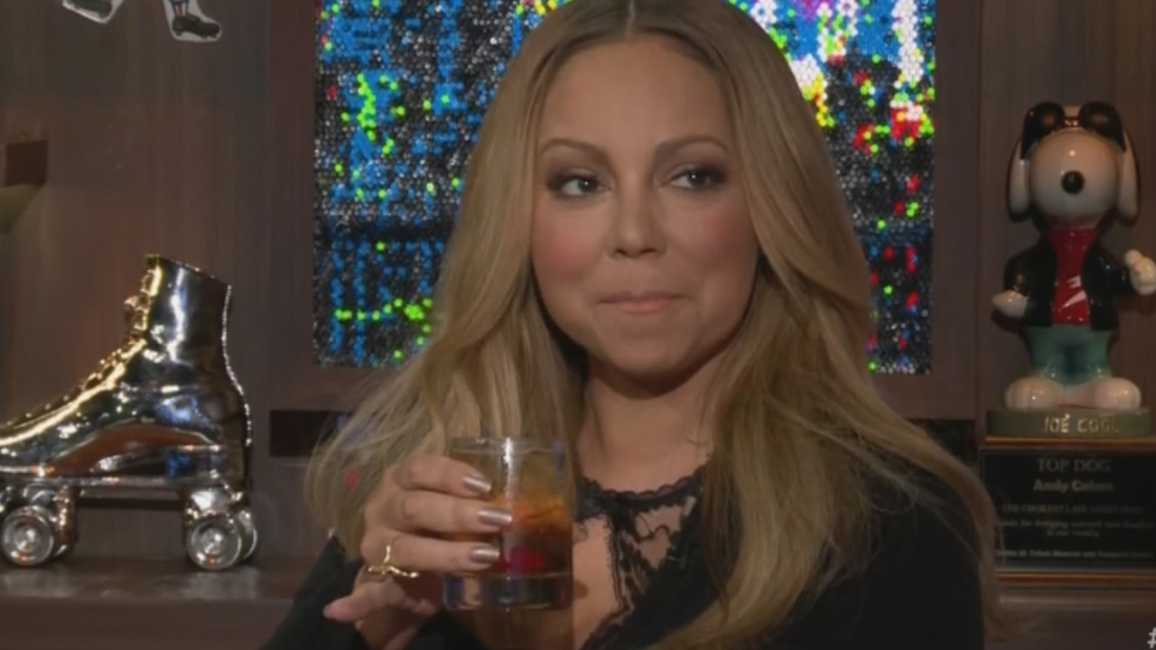 "Mariah Carey on ""Watch What Happens Live"" (May 17, 2016)"