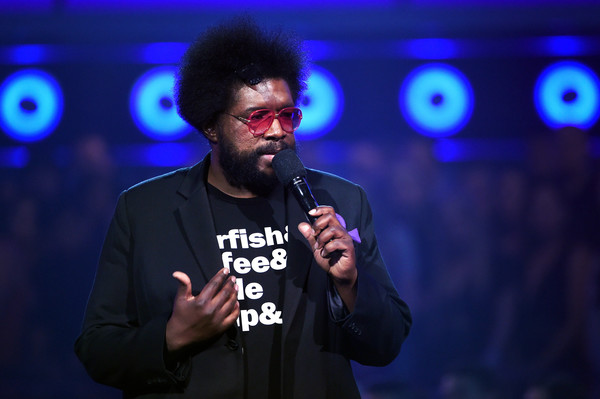 Musician/tv personality Questlove speaks onstage during the 2016 Billboard Music Awards at T-Mobile Arena on May 22, 2016 in Las Vegas, Nevada.