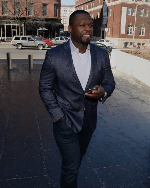 Curtis Jackson, also known as 50 Cent, makes an appearance at bankruptcy court on March 09, 2016 in Hartford, CT.