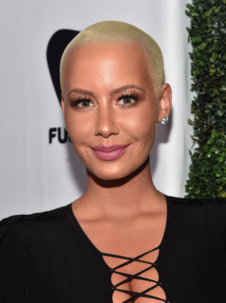 TV personality Amber Rose attends the ALL Def Movie Awards at Lure Nightclub on February 24, 2016 in Hollywood, California.