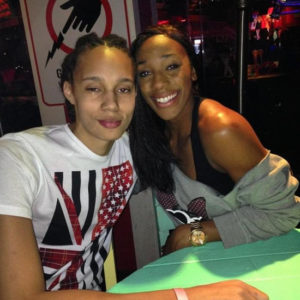 Britney Griner and Glory Johnson