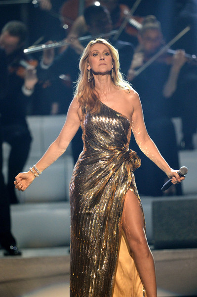 Singer Celine Dion performs onstage during the 2016 Billboard Music Awards at T-Mobile Arena on May 22, 2016 in Las Vegas, Nevada.