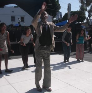Chester Whitmore and Dancers: Photo Credit, Ricky Richardson