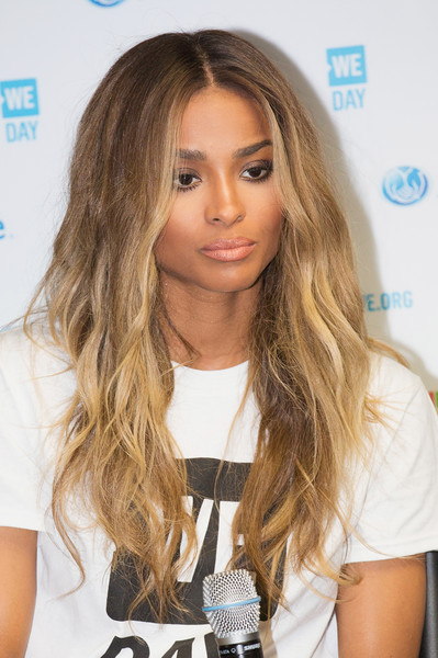 Singer, songwriter and producer Ciara speaks at a press conference during We Day at KeyArena on April 20, 2016 in Seattle, Washington.