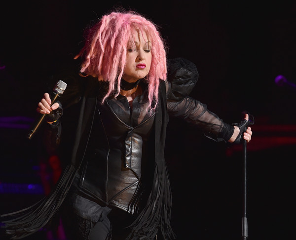 Cyndi Lauper performs in concert at the Beacon Theatre on May 25, 2016 in New York City.