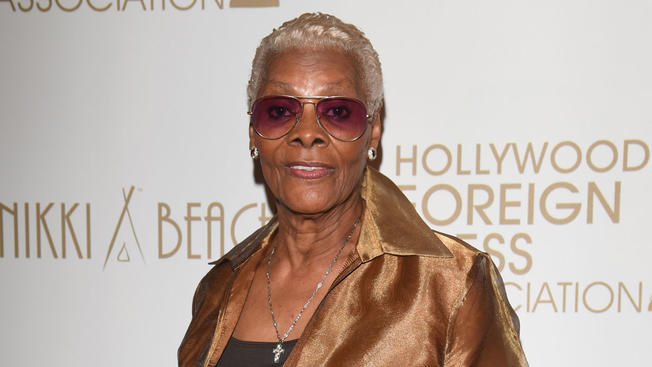 Dionne Warwick attends The Hollywood Foreign Press Association Honour Filmaid International during The 69th Annual Cannes Film Festival on May 13, 2016 in Cannes.