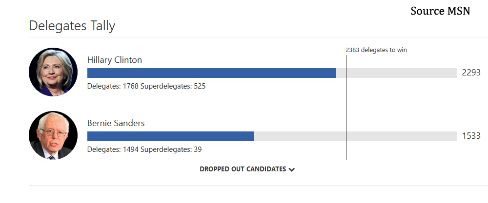 Opinion How Democratic Superdelegates Decided The Election - Delegates and superdelegates