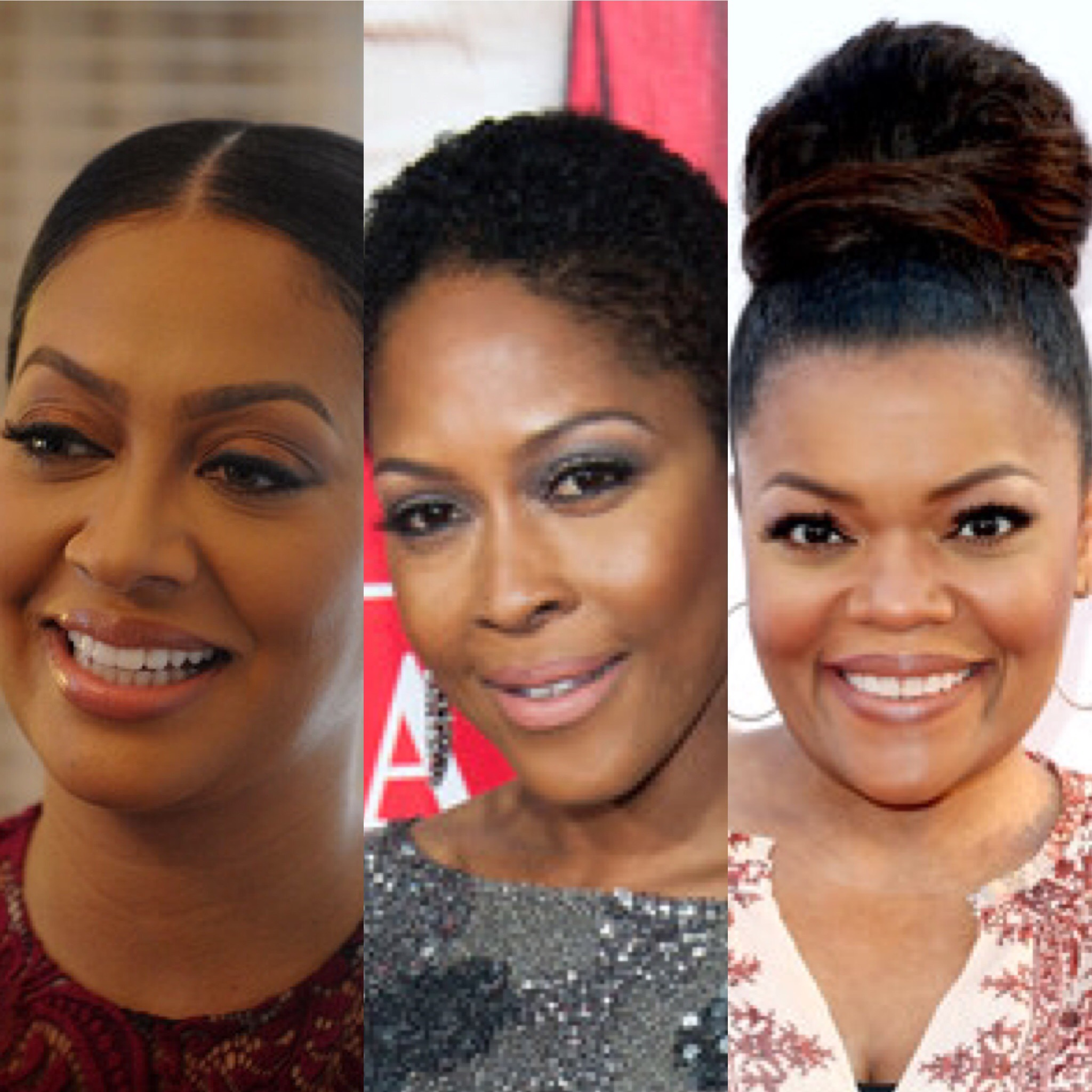 (L-R) La La Anthony, Monica Calhoun and Yvette Nicole Brown