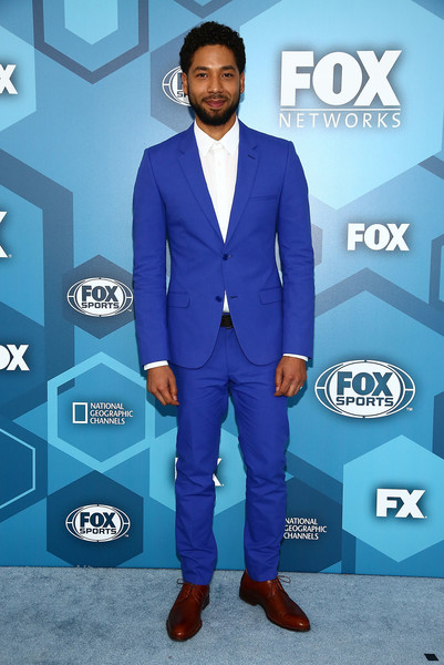 Actor Jussie Smollett attends FOX 2016 Upfront Arrivals at Wollman Rink, Central Park on May 16, 2016 in New York City.
