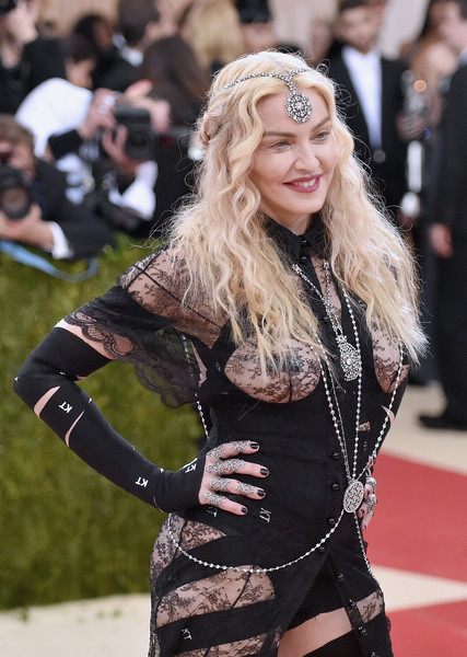 "Madonna attends the ""Manus x Machina: Fashion In An Age Of Technology"" Costume Institute Gala at Metropolitan Museum of Art on May 2, 2016 in New York City."