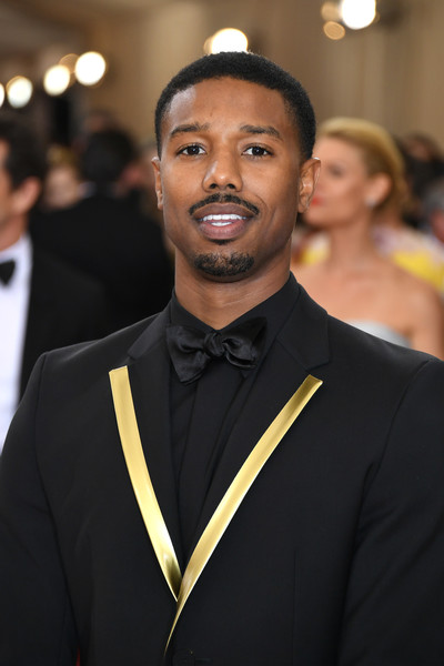 "Michael B. Jordan attends the ""Manus x Machina: Fashion In An Age Of Technology"" Costume Institute Gala at Metropolitan Museum of Art on May 2, 2016 in New York City."