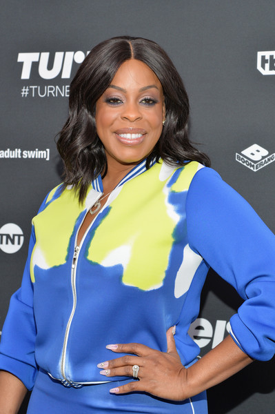 Comedian Niecy Nash attends the Turner Upfront 2016 at Nick & Stef's Steakhouse on May 18, 2016 in New York City.