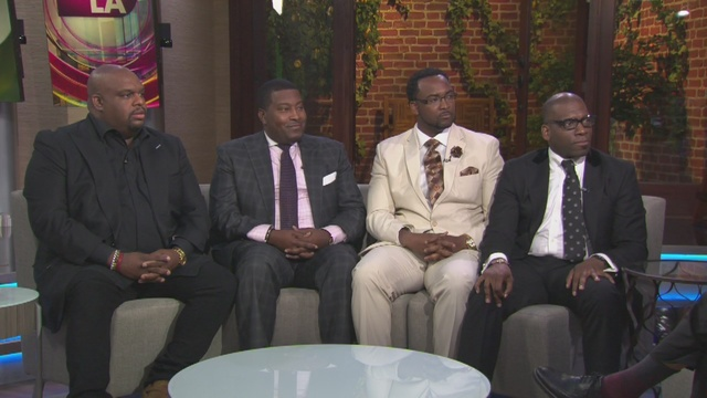 The stars of a new panel talk show, 'The Preachers' stopped by Good Day LA to discuss the program.