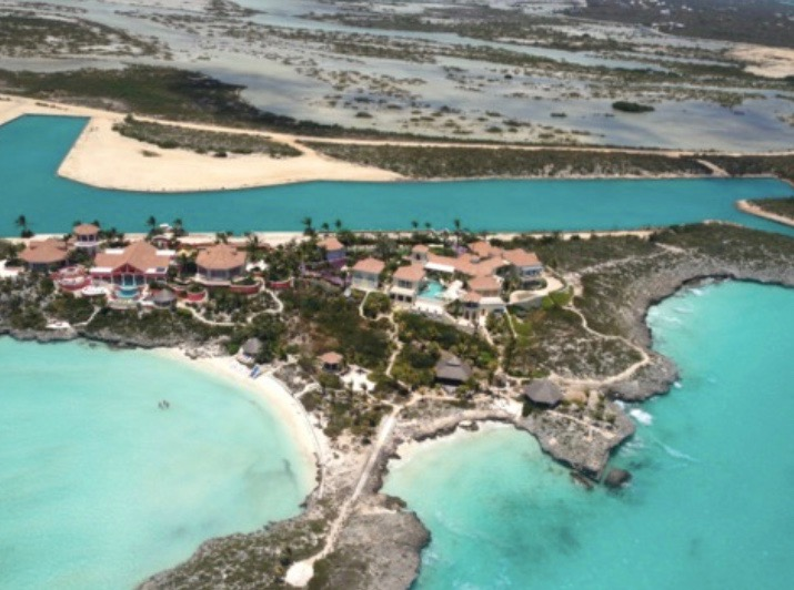 Prince's home in Turks and Caicos