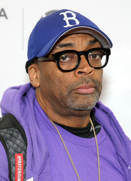 """Director Spike Lee of film """"2 Fists Up"""" attends Tribeca Film Festival Shorts: Sports Shorts on April 22, 2016 in New York City."""