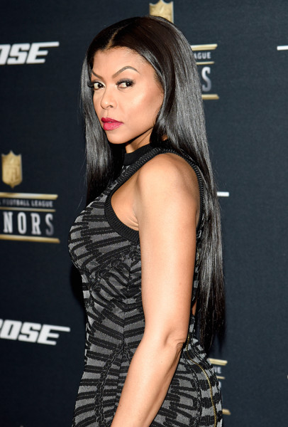Actress Taraji P. Henson attends the 5th Annual NFL Honors at Bill Graham Civic Auditorium on February 6, 2016 in San Francisco, California.