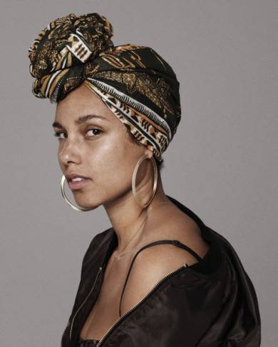 Alicia Keys has been promoting her upcoming album with little to no ...