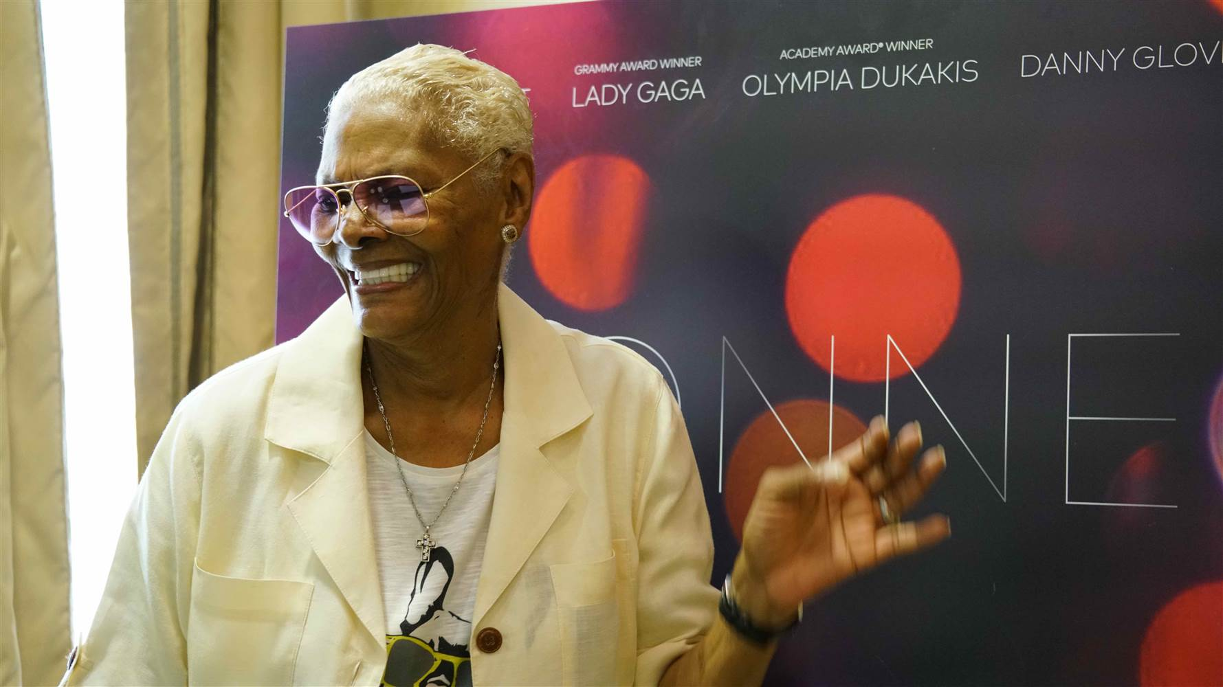 Dionne Warwick announced her upcoming biopic at the Cannes Film Festival on May 13, 2016. Although Lady Gaga's name appeared on a promotional poster, her publicists said she is not attached to the project.