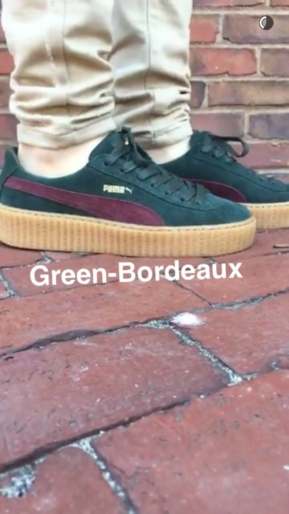 creepers green bordeaux