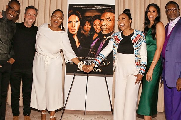 "Clement Virgo, Craig Wright, Oprah, Lynn Whitfield, Merle Dandridge & Keith David at Q&A and screening for ""Greenleaf"""