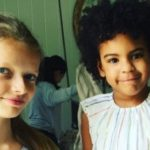 Blue Ivy Carter and Gwyneth Paltrow's Daughter Apple Do Brunch (Pic)