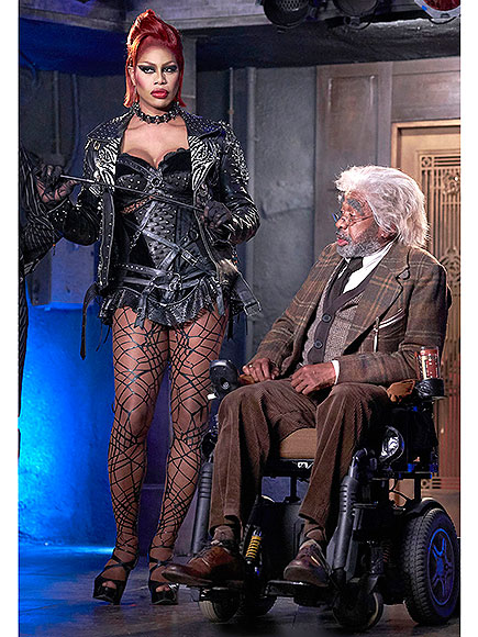 Laverne Cox and Ben Vereen in The Rocky Horror Picture Show - STEVE WILKIE / FOX
