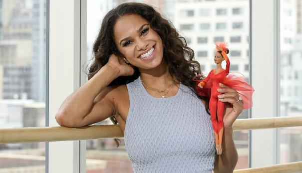 Ballerina Misty Copeland Gets Her Own Barbie Doll