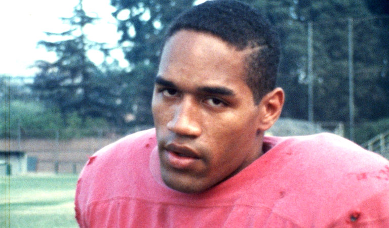 "O.J. Simpson in a still from the documentary ""O.J.: Made in America"""