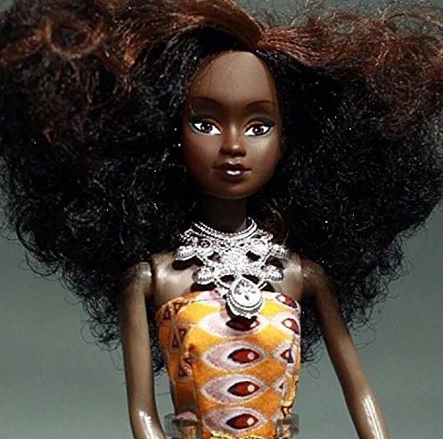 queens of africa doll - curly1