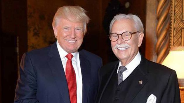 Donald Trump and his former butler Anthony Senecal