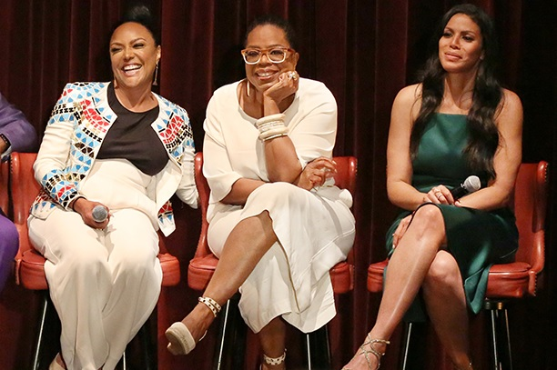 "Lynn Whitfield, Oprah & Merle Dandridge at Q&A and screening for ""Greenleaf"""