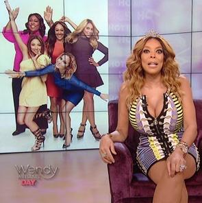 wendy williams - the real - tamar1