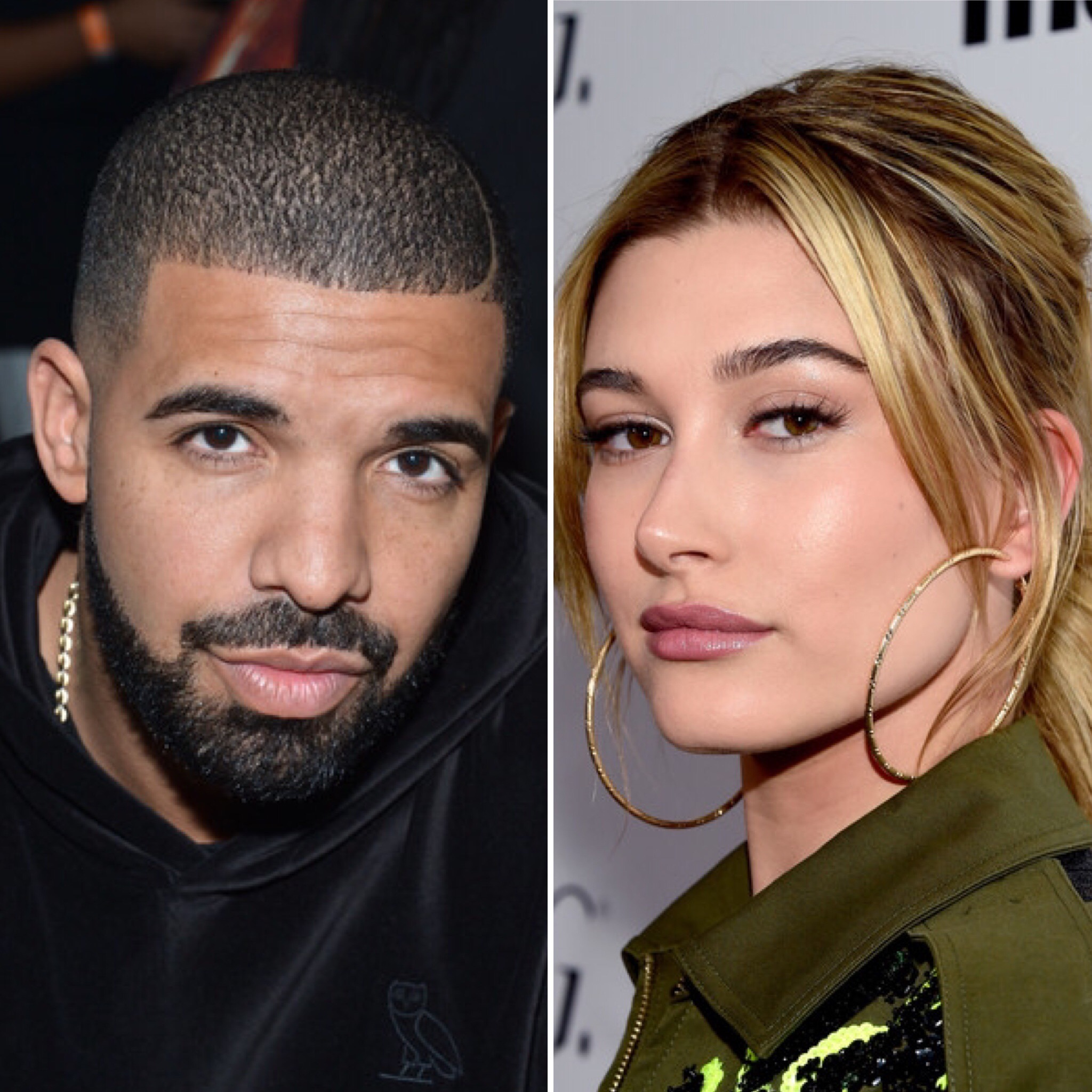 Drake and Hailey Baldwin