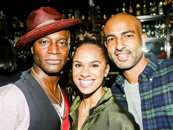 (L-R) Taye Diggs, Misty Copeland and Olu Evans