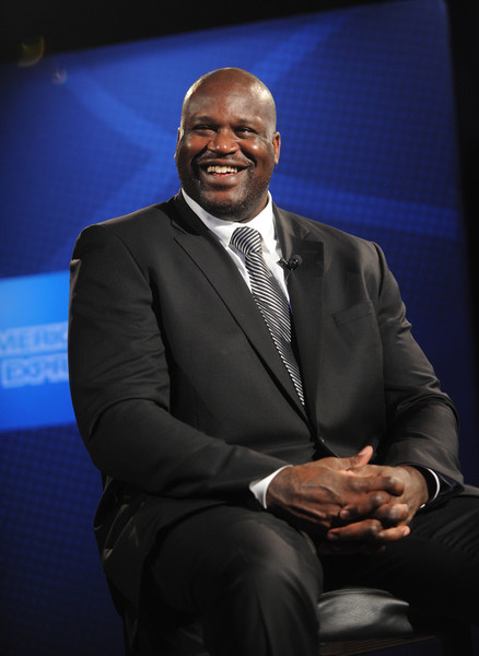 American Express teams up with Shaquille O'Neal (pictured) and Phil Jackson at the Altman Building on June 6, 2016 in New York City.