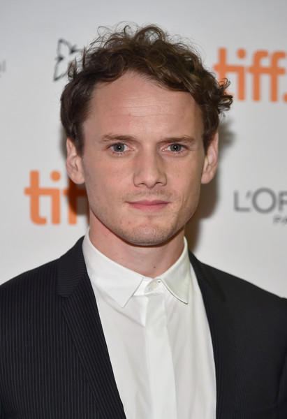 """Actor Anton Yelchin attends the """"Green Room"""" and """"The Chickening"""" premieres during the 2015 Toronto International Film Festival at Ryerson Theatre on September 10, 2015 in Toronto, Canada."""