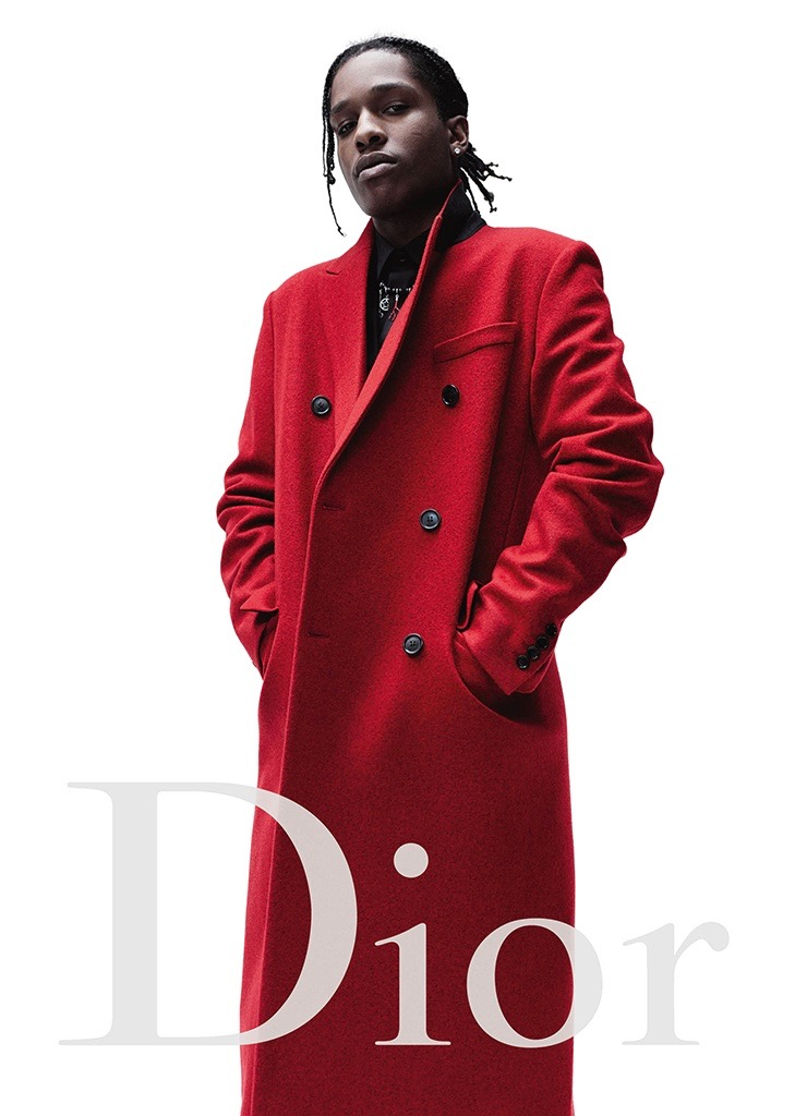 A$AP Rocky for Dior Hommes