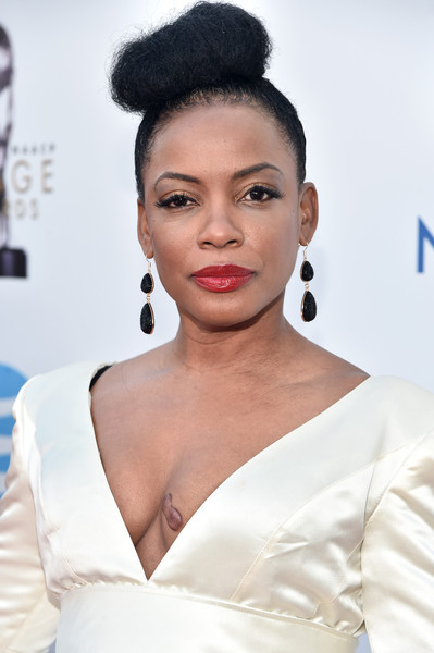 Actress Aunjanue Ellis attends the 47th NAACP Image Awards presented by TV One at Pasadena Civic Auditorium on February 5, 2016 in Pasadena, California.