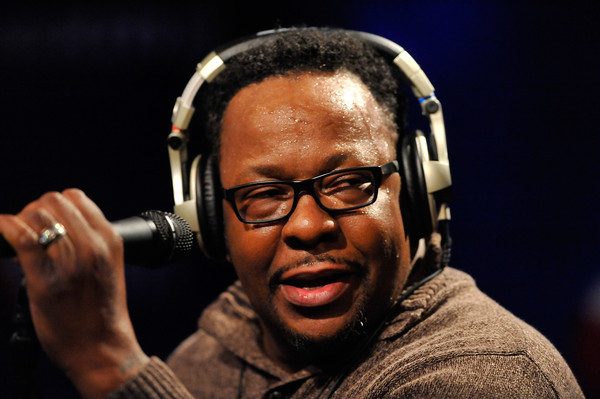 "Bobby Brown performs on SiriusXM's ""Up Close & Personal"" hosted by Cayman Kelly (not pictured) at SiriusXM Studio on December 18, 2015 in Washington, DC."