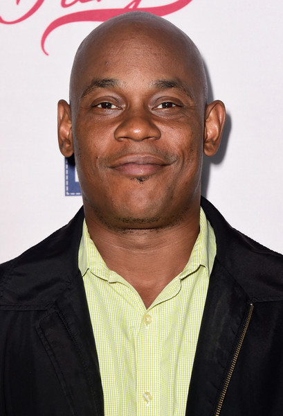"""Actor Bokeem Woodbine attends the premiere of FX's """"Fargo"""" Season 2 at ArcLight Cinemas on October 7, 2015 in Hollywood, California."""
