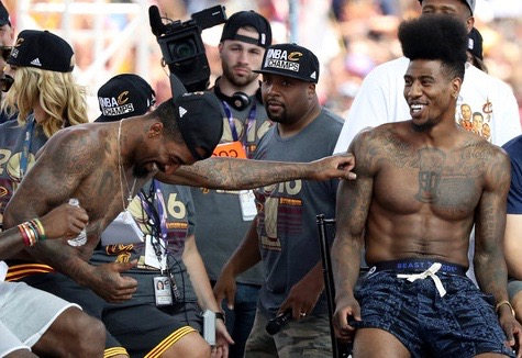 Iman+Shumpert+Cleveland+Cavaliers+Victory+wYpTY53K4Awl